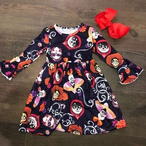 Other - Coco Day Of The Dead Dress Girls